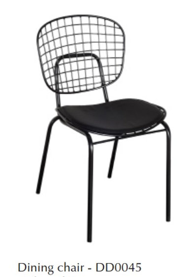 Laval Dining Chair with Cushion