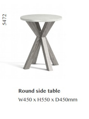 Docklands Round Side Table