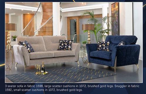 Artemis 3 Seater Sofa by Alstons