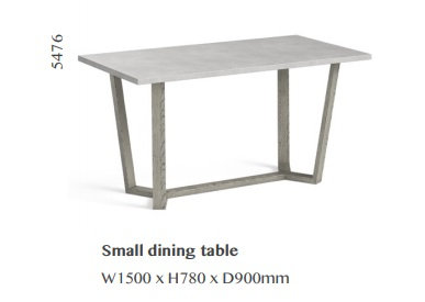 Docklands 5ft Dining Table