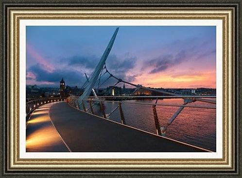 City Peace Bridge Colour