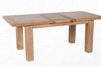 Danube 1.8m to 2.3m Extending Dining Table plus 6 Chairs
