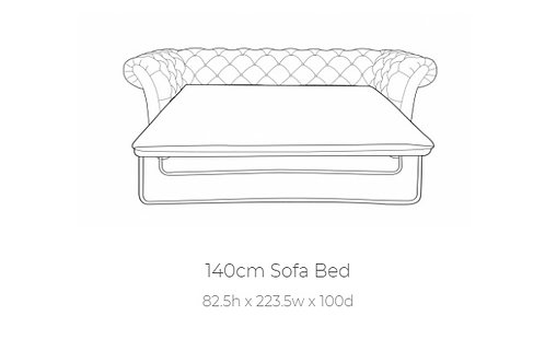 Churchill 3 Seater Sofa Bed by Buoyant