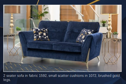 Artemis 2 Seater Sofa by Alstons
