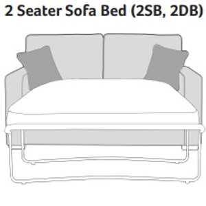 Chicago 2 Seater Sofabed by Buoyant