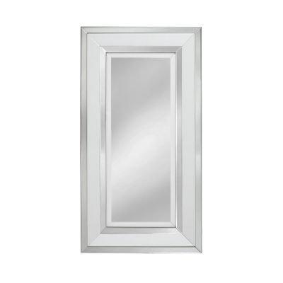 White Manhattan Medium Mirror