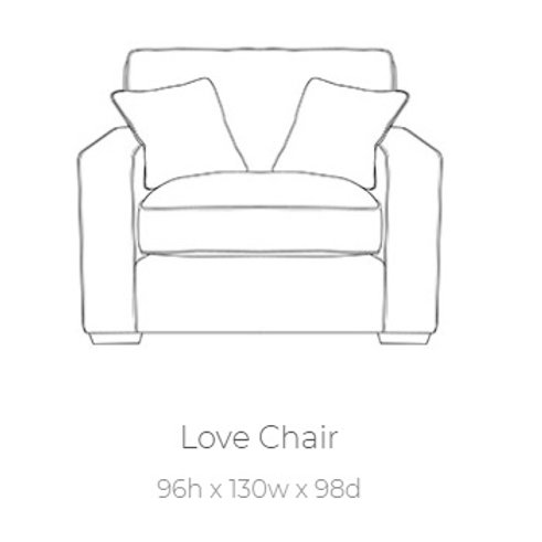 Chicago Love Chair by Buoyant