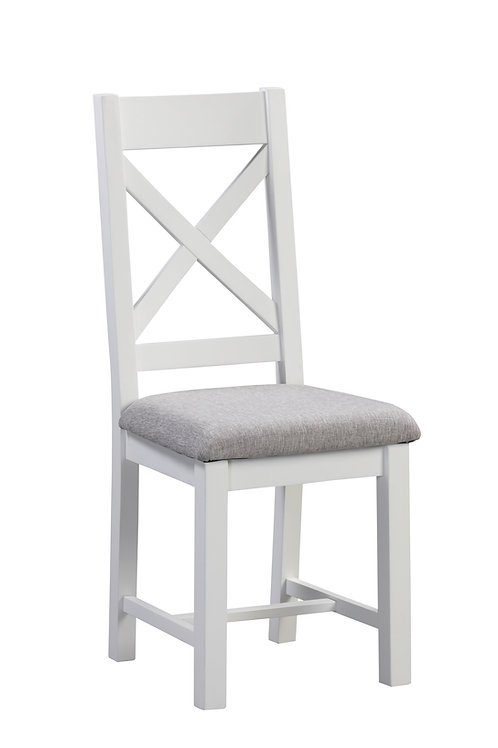 Ancona White Dining Chair