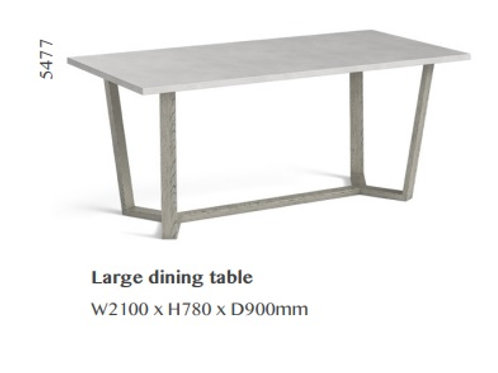 Docklands Large dining Table