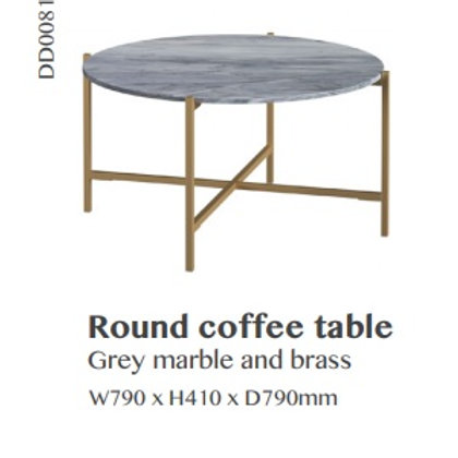 Shoreditch Round Coffee Table
