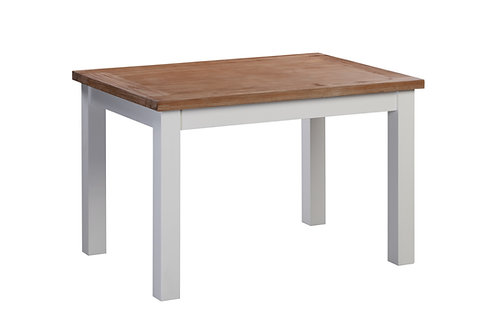 Ancona White Dining Table