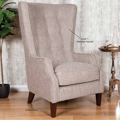 Throne Accent Chair by Buoyant