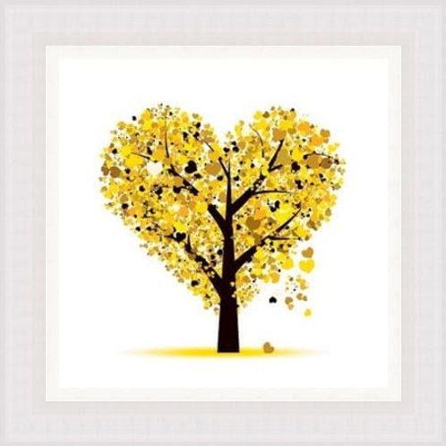 Yellow Love Tree