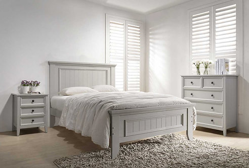 Mila Panelled Bed