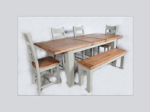 Danube 1.8m to 2.3m Extending Dining Table