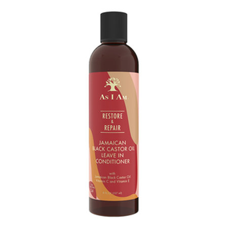 AS I AM Jamaican Black Castor Oil Leave In Conditioner(8oz)