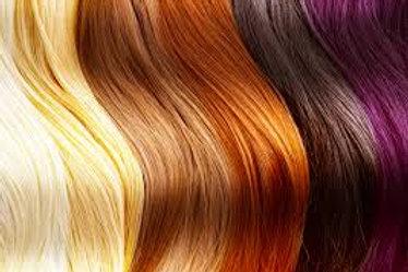 HAIR UNIT COLORING SERVICES