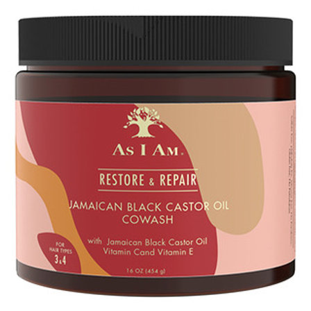 AS I AM Jamaican Black Castor Oil CoWash(16oz)