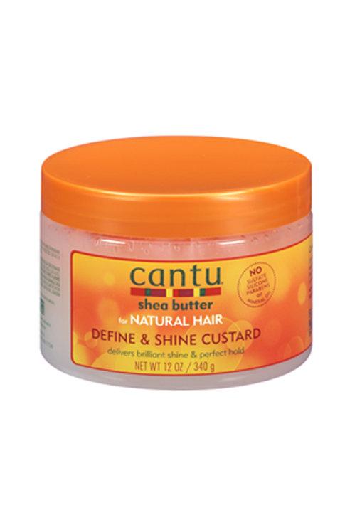 Cantu Natural Hair Define & Shine Custard (12oz)