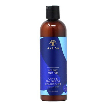 AS I AM Dry & Itchy Scalp Care Conditioner (12oz)