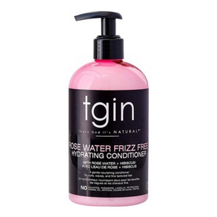 TGIN Rose Water Frizz Free Hydrating Conditioner (13oz)