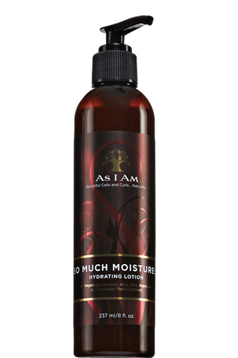 AS I AM So Much Moisture Hydrating Lotion (8oz)