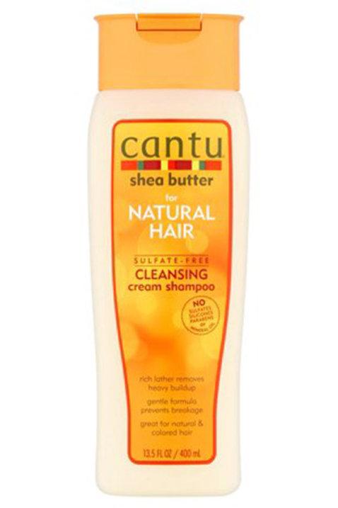 Cantu Natural Hair Sulfate Free Cleansing Cream Shampoo (13.5oz)