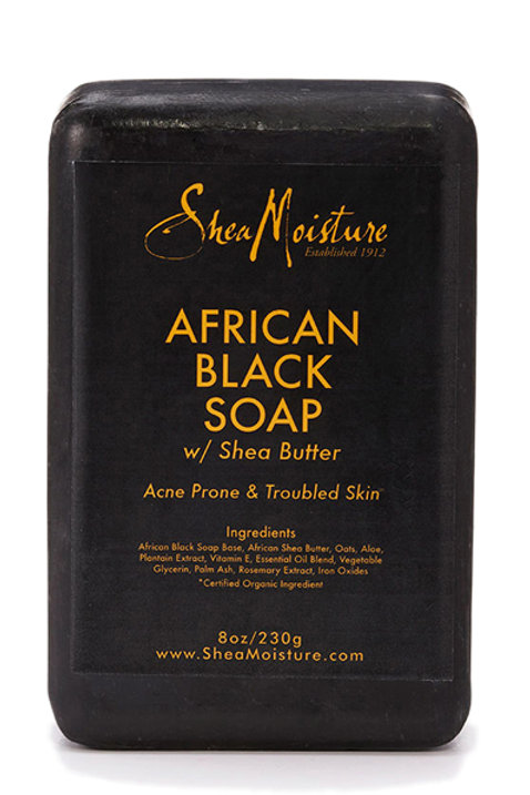 SHEA MOISTURE  AFRICAN BLACK SOAP W/ SHAE BUTTER