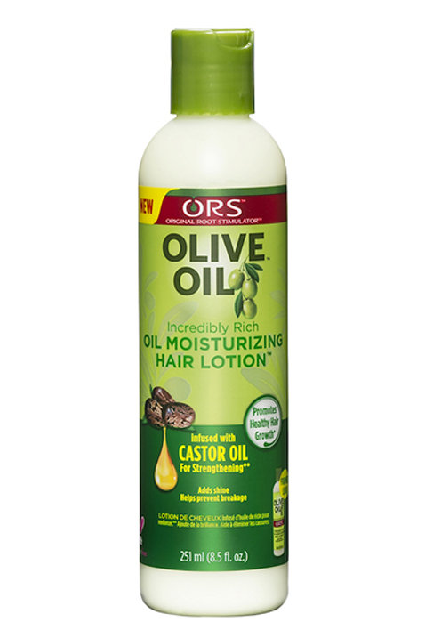 OLIVE OIL HAIR MOISTURIZING LOTION  (8.5oz)