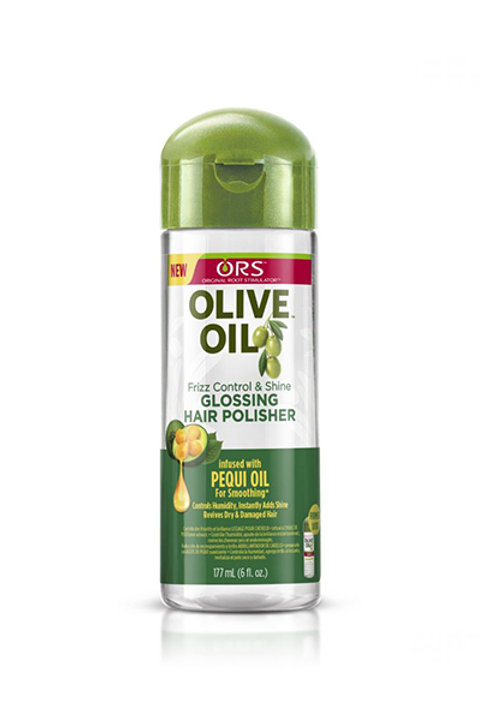 OLIVE OIL GLOSSING HAIR POLISHER  (6oz)