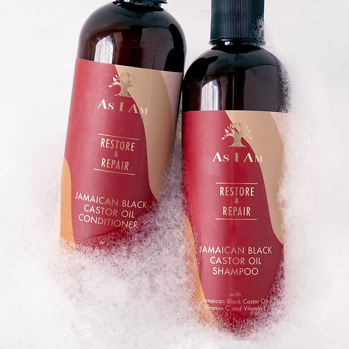 AS I AM SHAMPOO AND CONDITIONER COMBO PACKAGE