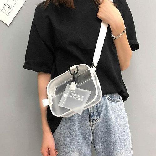 Thermoplastic Messenger Cross Body Bag