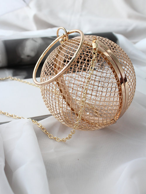 Cage Sphere Hand Bag
