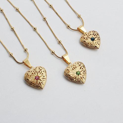 Heart of Gold Locket