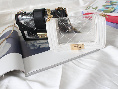 Chanel-inspired Clear Bag
