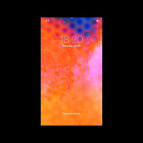 Orange - Wallpaper for Smartphone