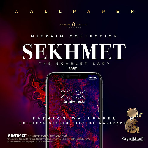 Sekhmet - Wallpaper for Phone Part 1 (Limited edition 10 copies)