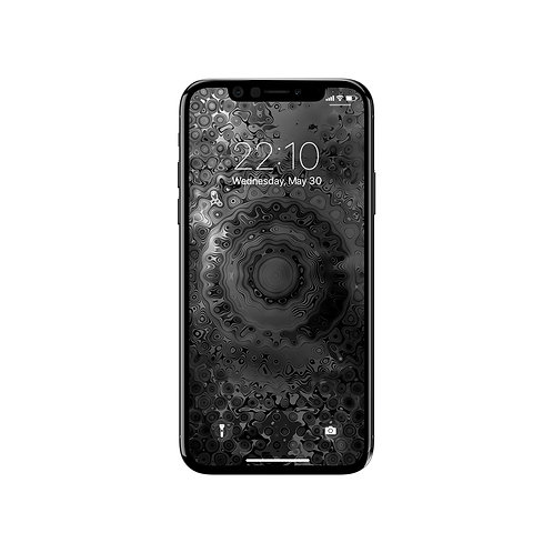 Mirage B&W - Wallpaper iPhone X