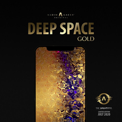 Deep Space Gold - The Wallpaper (Limited edition 20)