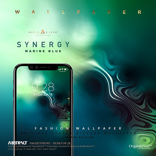 Synergy Marine Blue - Wallpaper for Phone (Limited edition #01)