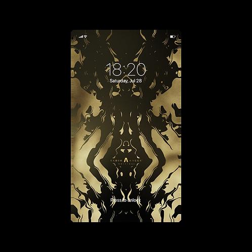 Golden Mohican - Wallpaper for Phone