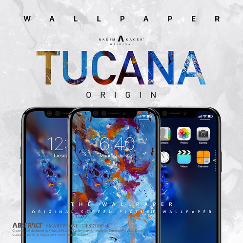 Tucana Origin - Wallpaper for Phone (Standard edition)