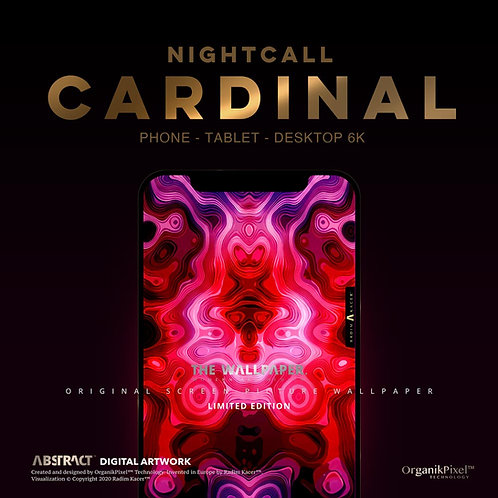 Nightcall Cardinal - The Wallpaper (Limited edition 20)