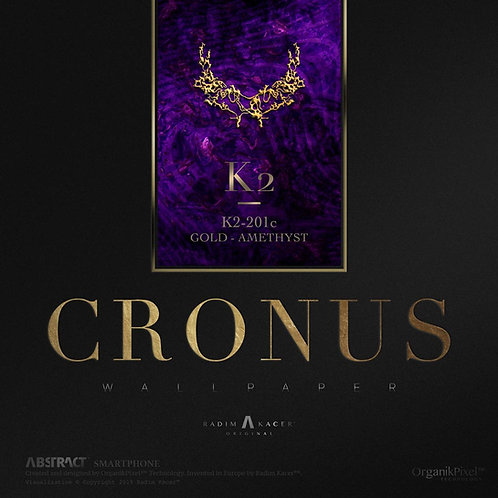 Cronus K2-201c Gold-Amethyst - The Wallpaper (Limited edition 10 copies)