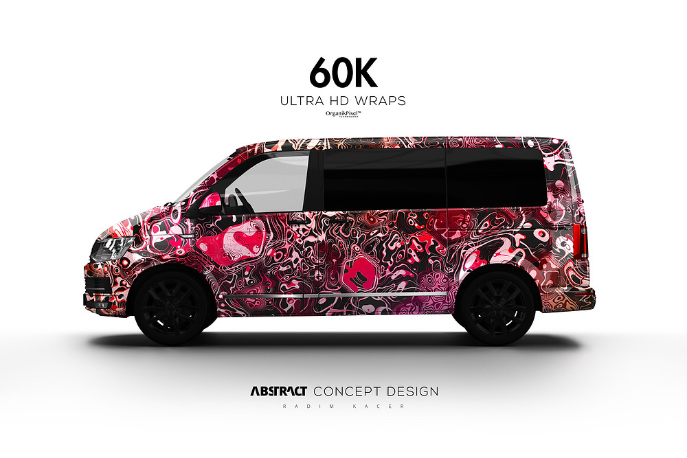 Der König - Ultra HD Wrap Design for Volkswagen Multivan.