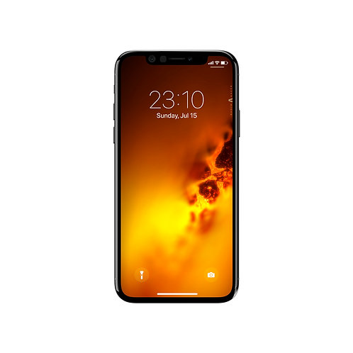 Inferno Abstract Wallpaper for Apple iPhone X