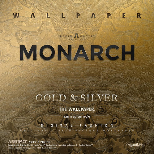 Monarch Gold & Silver - The Wallpaper (Limited edition)