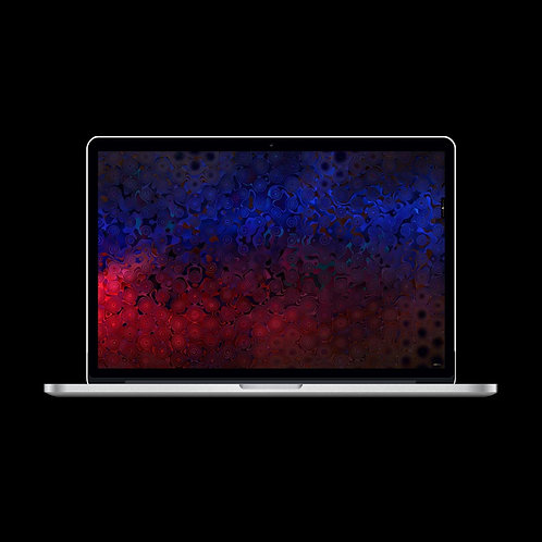 Deep Space MacBook - The Wallpaper (Standard edition)