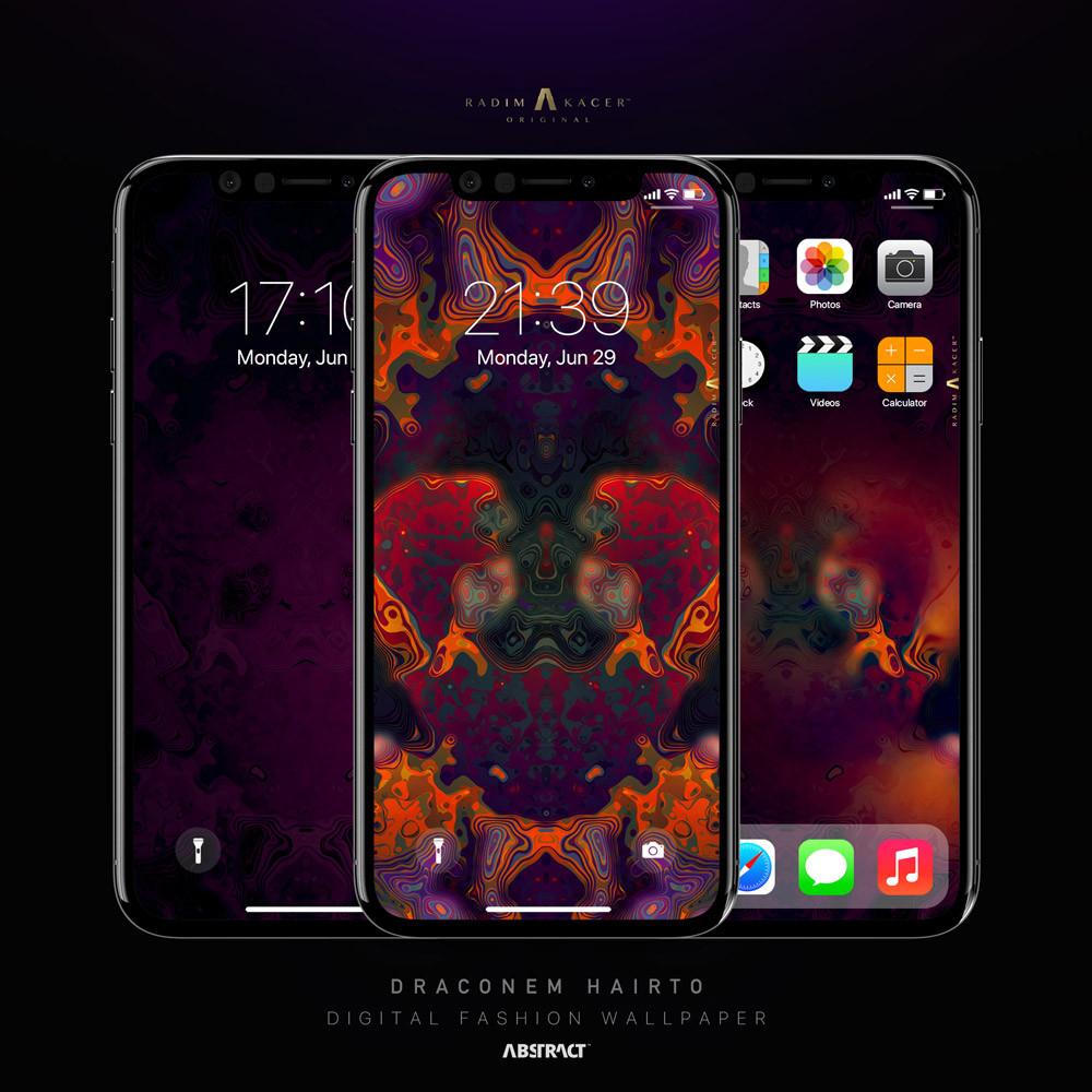 Draconem Hairto Wallpaper for Phone
