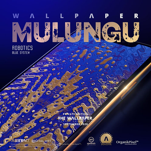 Mulungu Robotics Blue System - The Wallpaper (Private)
